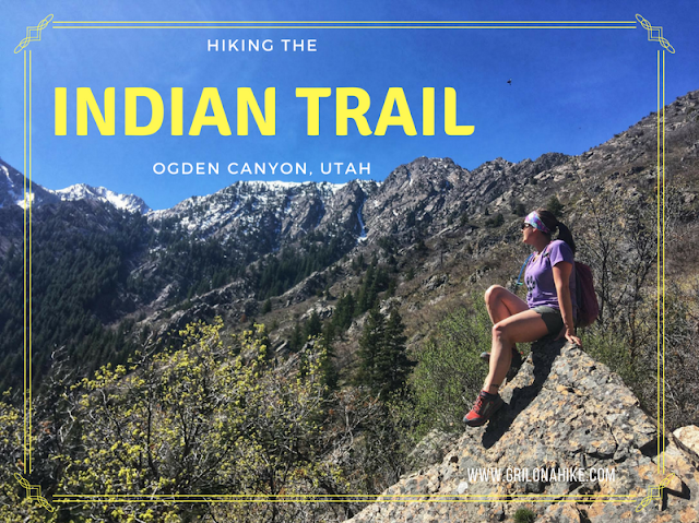 Hiking the Indian Trail in Ogden Utah hikes, Utah