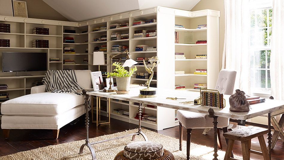 20 Photos Of How Nate Berkus Made Over Iyanla S Home Inspirational Office Decor Home Office Furniture Design