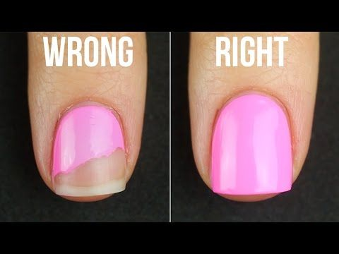 There Are A Few Things You Can Do To Keep Your Polish Intact Without Touching It Up Prevent The Patchy Flaky Lo Chipped Nail Polish Nail Polish No Chip Nails