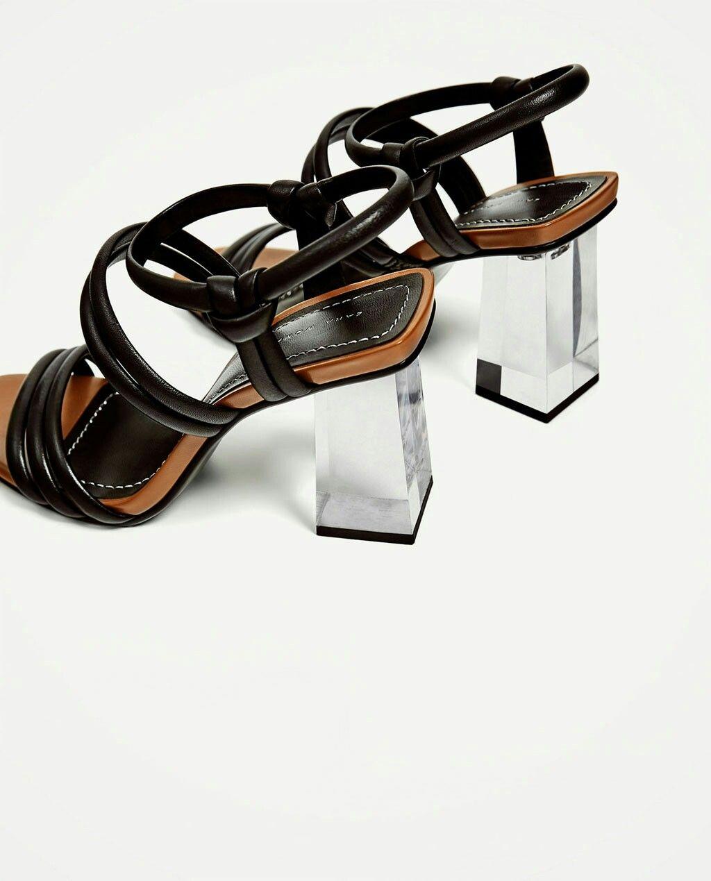 Pin By Monika Sucharzewska On Zara Zara Leather Sandals Leather Sandals