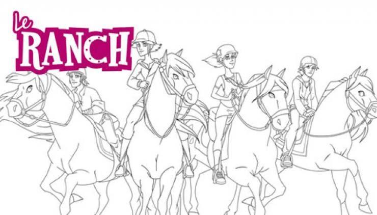 Épinglé par dakota sur drawings ️ ️  coloriage le ranch