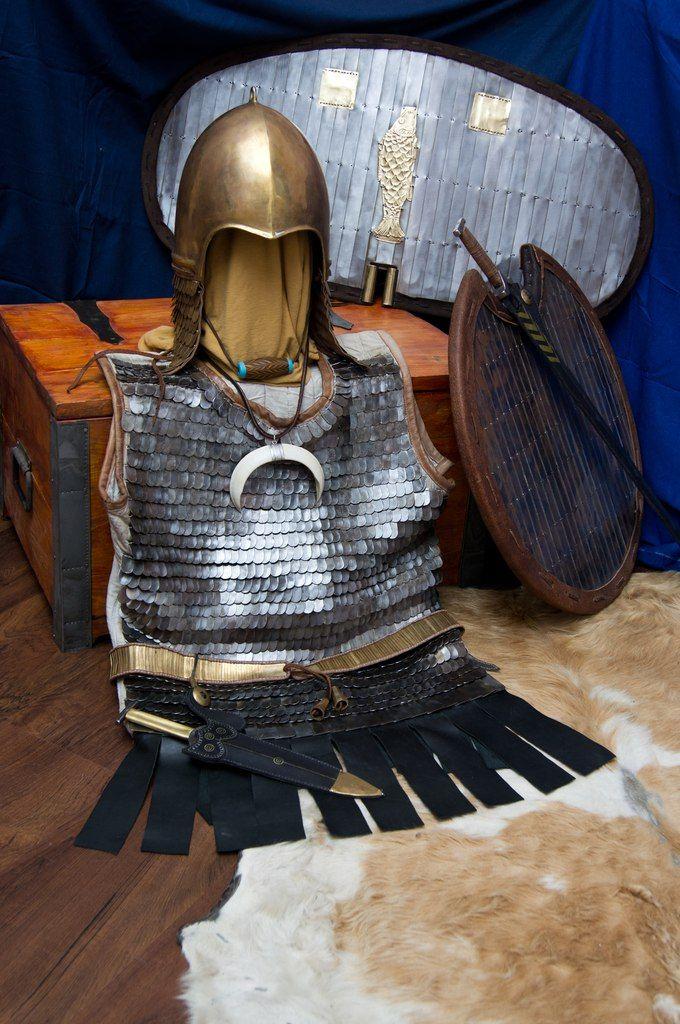 scythian warrior Ски��кий воин Рекон����к�ия Пан�и�� из