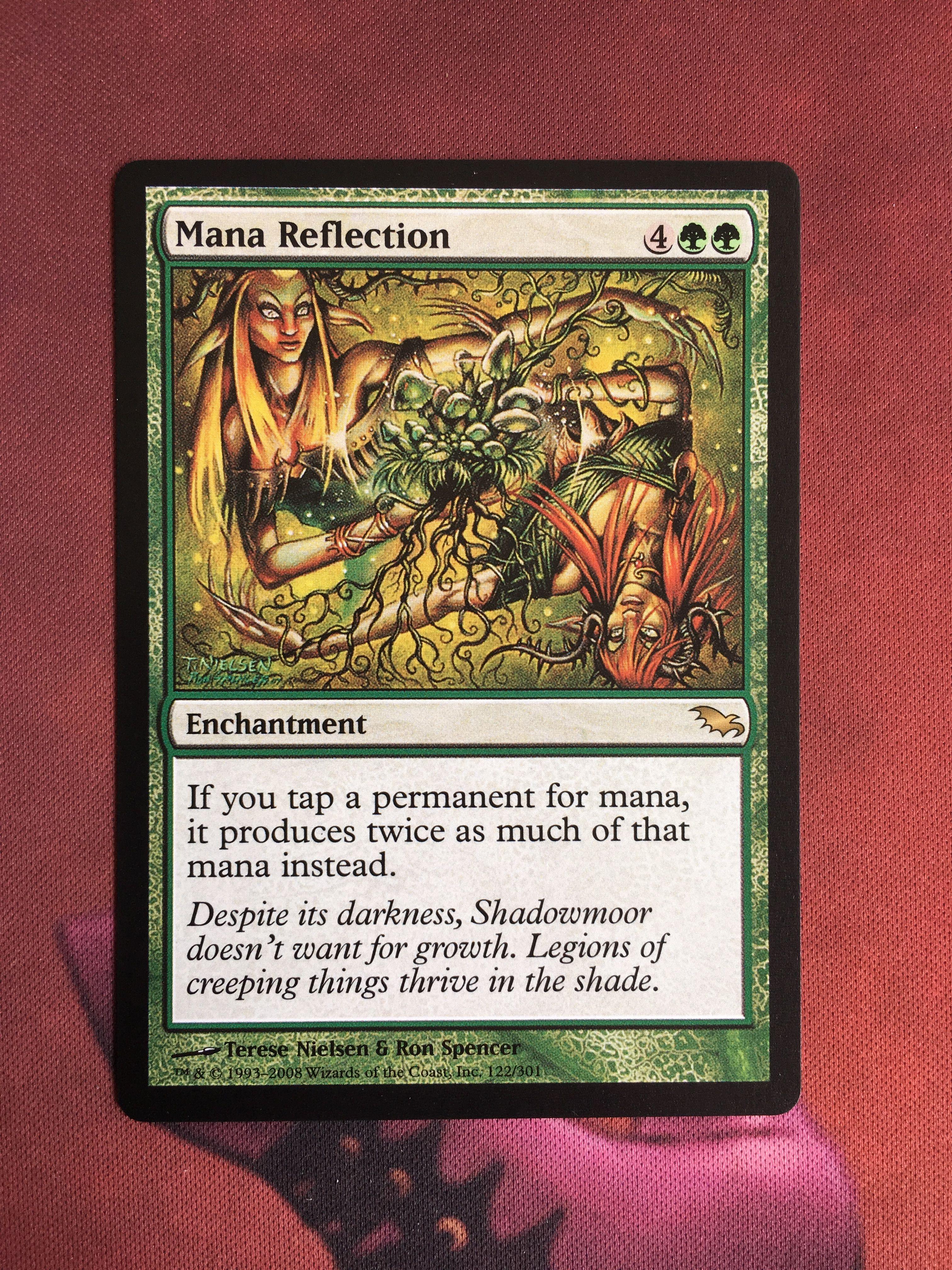 //// Magic the Gathering Mana Reflection //// NM //// Shadowmoor //// engl