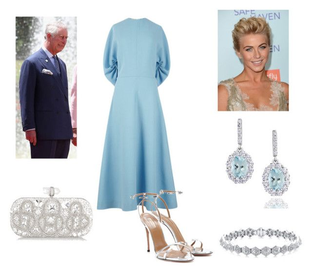 """""""Night out with Dad - Attending the Ballet"""" by royal-fashion ❤ liked on Polyvore featuring Emilia Wickstead, JULIANNE, Aquazzura, Columbia and Marchesa"""