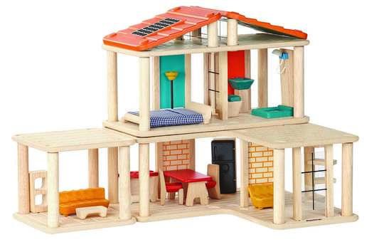 Womb propose la Maison de poupées en bois, création Plan Toys À - creer un plan de maison