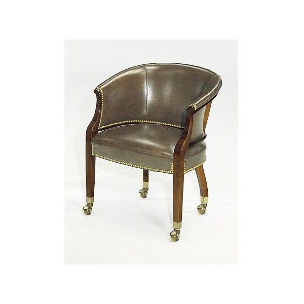 Tub Chair With Casters Via Polyvore Featuring Home Furniture Chairs Castor Chair Ball Casters Furniture Caster Chairs And Caster Chairs Chair Ball Casters