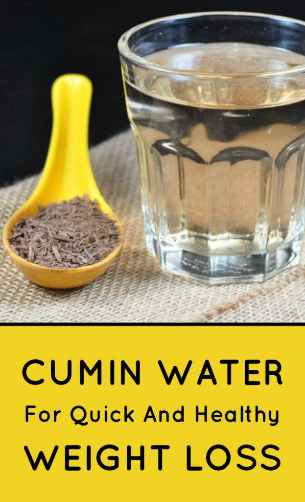 Cumin Water for Quick and Healthy Weight Loss | Health ...
