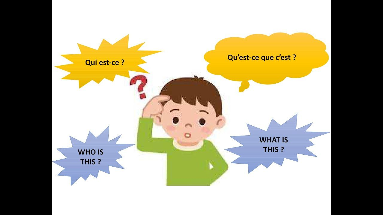 What S This Who S This Learn French For Beginners Qu Est Ce Que Learn French Beginner French For Beginners Learn French