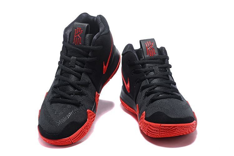 c50fae326d0c Nike Kyrie 4 Black Red Basketball Shoes Cheap Kyrie Shoes 2018 ...