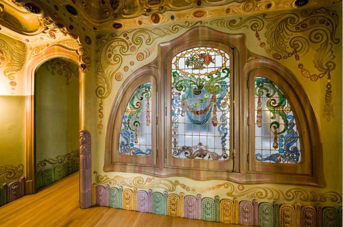 Casa comalat 1911 de salvador valeri i pupurull av for Escoles de disseny d interiors a barcelona
