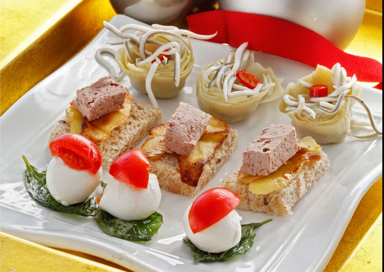 Entremeses navide os aperitivos y dem s mini food recetas entremeses y corazones - Entremeses y aperitivos ...