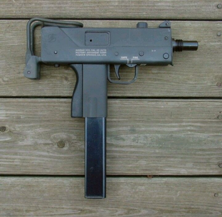 MAC 10  45acp | Ammo | Guns, Submachine gun, Hand guns