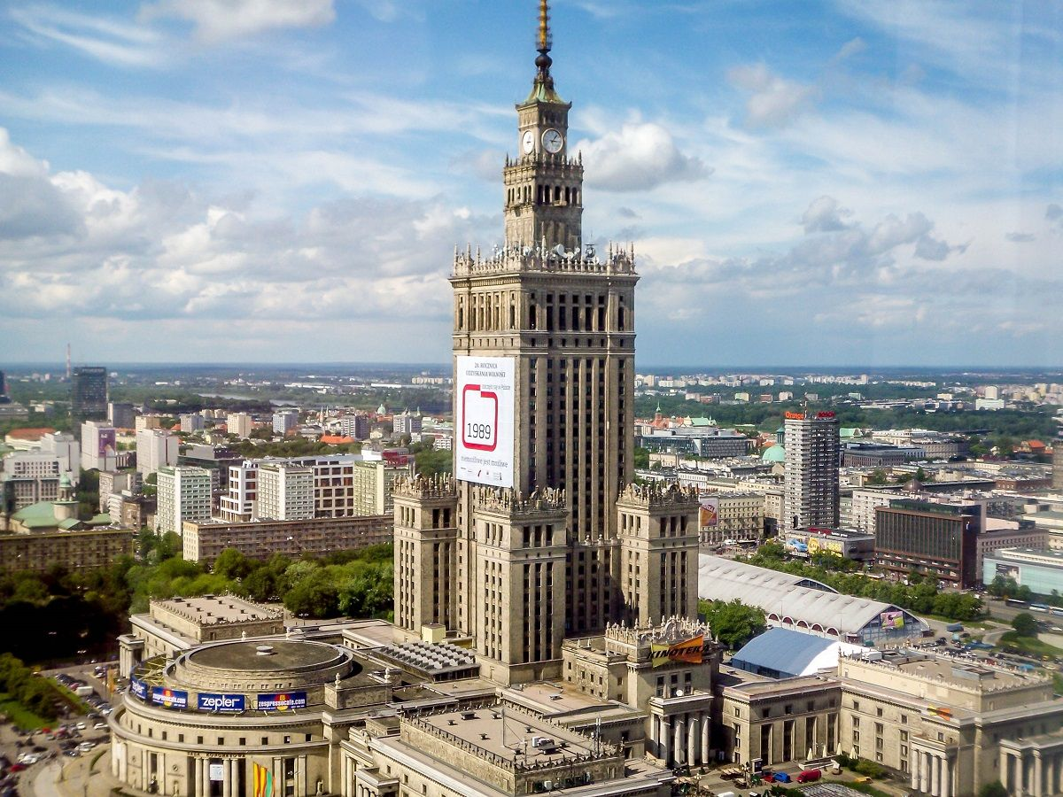 poland palace of culture and science warsaw tallest buildings
