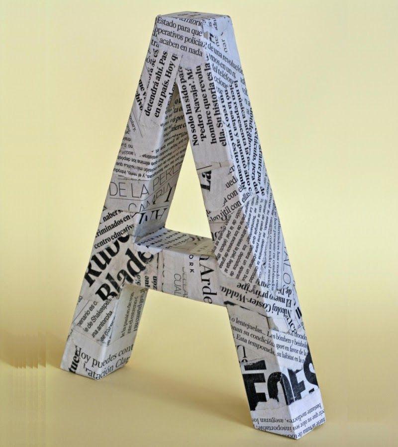 Otra manera de hacer las letras que decía Ana con mensajes en las - paredes con letras