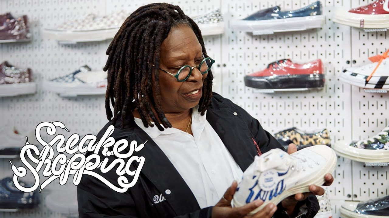Whoopi Goldberg Goes Sneaker Shopping With Complex - YouTube ... 1d471c2bd