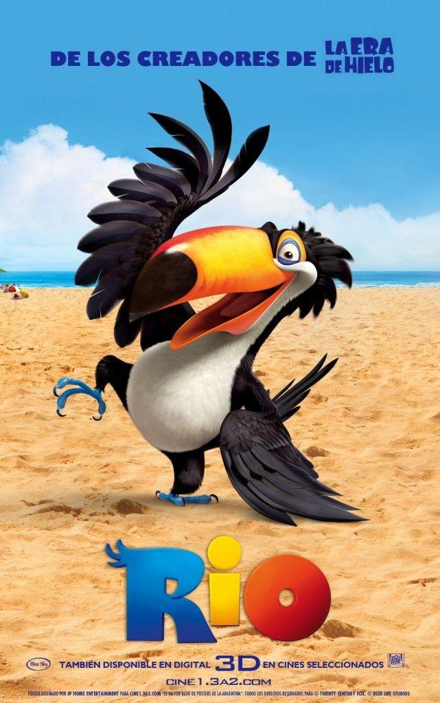 Rio Is Animation Blu Nigel Jewel Luiz Bulldog Female Macaw Birds