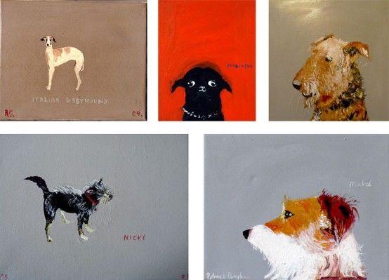 robert clarke paintings by beatriz