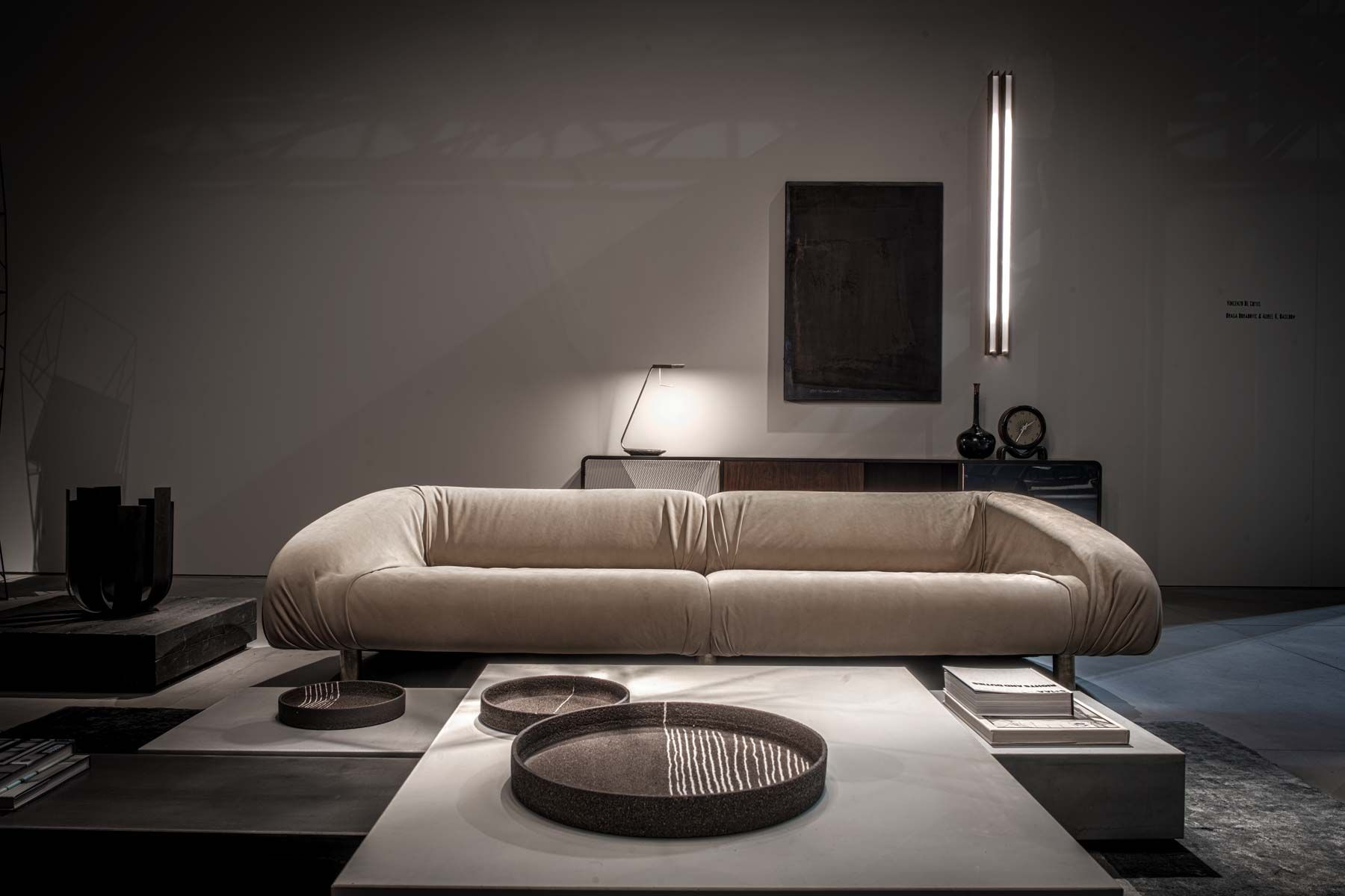 Materiality And Minimalist Aesthetic. Baxter At ISaloni Amazing Design