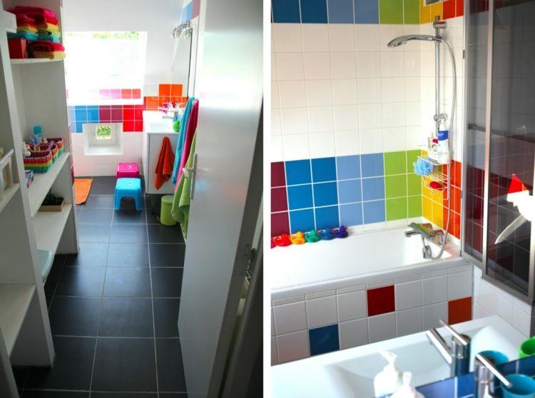 R sultat de recherche d 39 images pour salle de bain enfant couleurs sdb enfant en 2018 - Salle de bain pour enfant ...