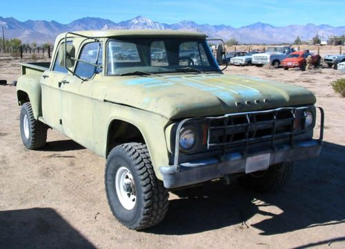 Crew Cab Trucks For Sale >> 1969 Dodge Power Wagon Crew Cab For Sale 1 W200 Vintage And