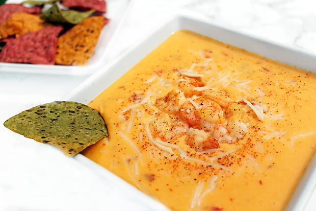 Cajun Shrimp and Crab Queso Dip