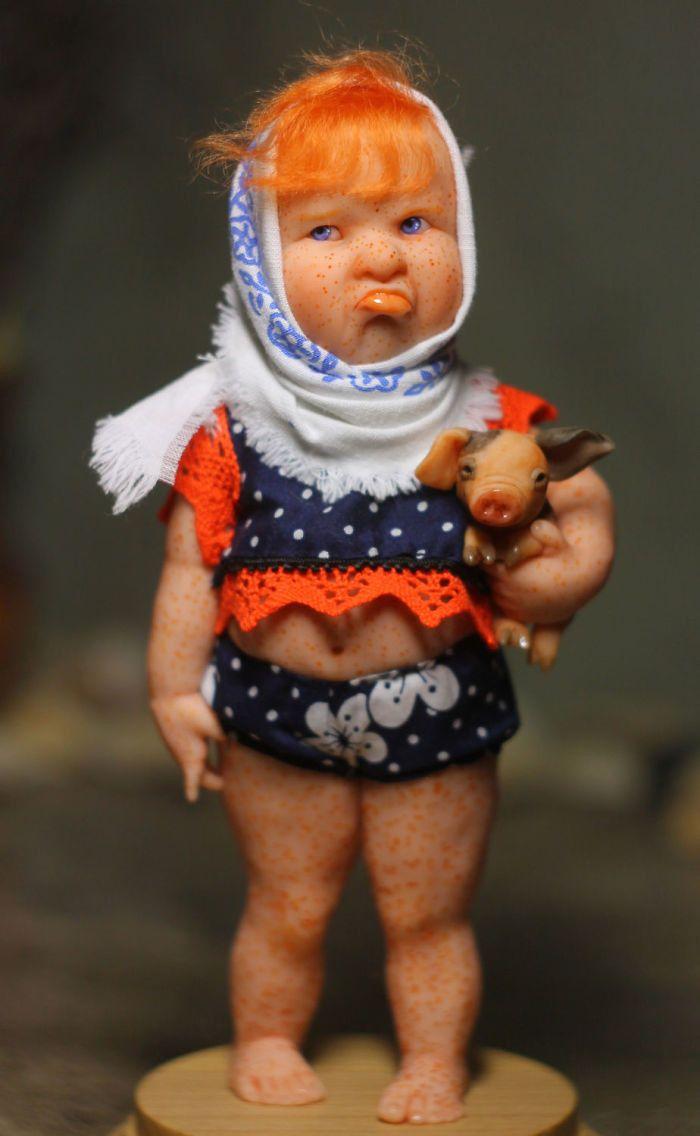 Открытки поздравлением, прикольные картинки кукла