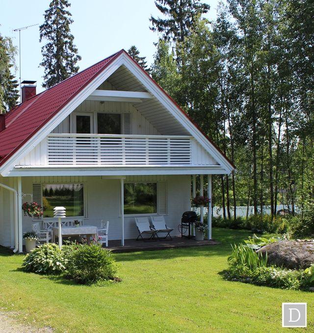 Näin tiilipintainen talo vaihtaa väriä! | Dekottaa