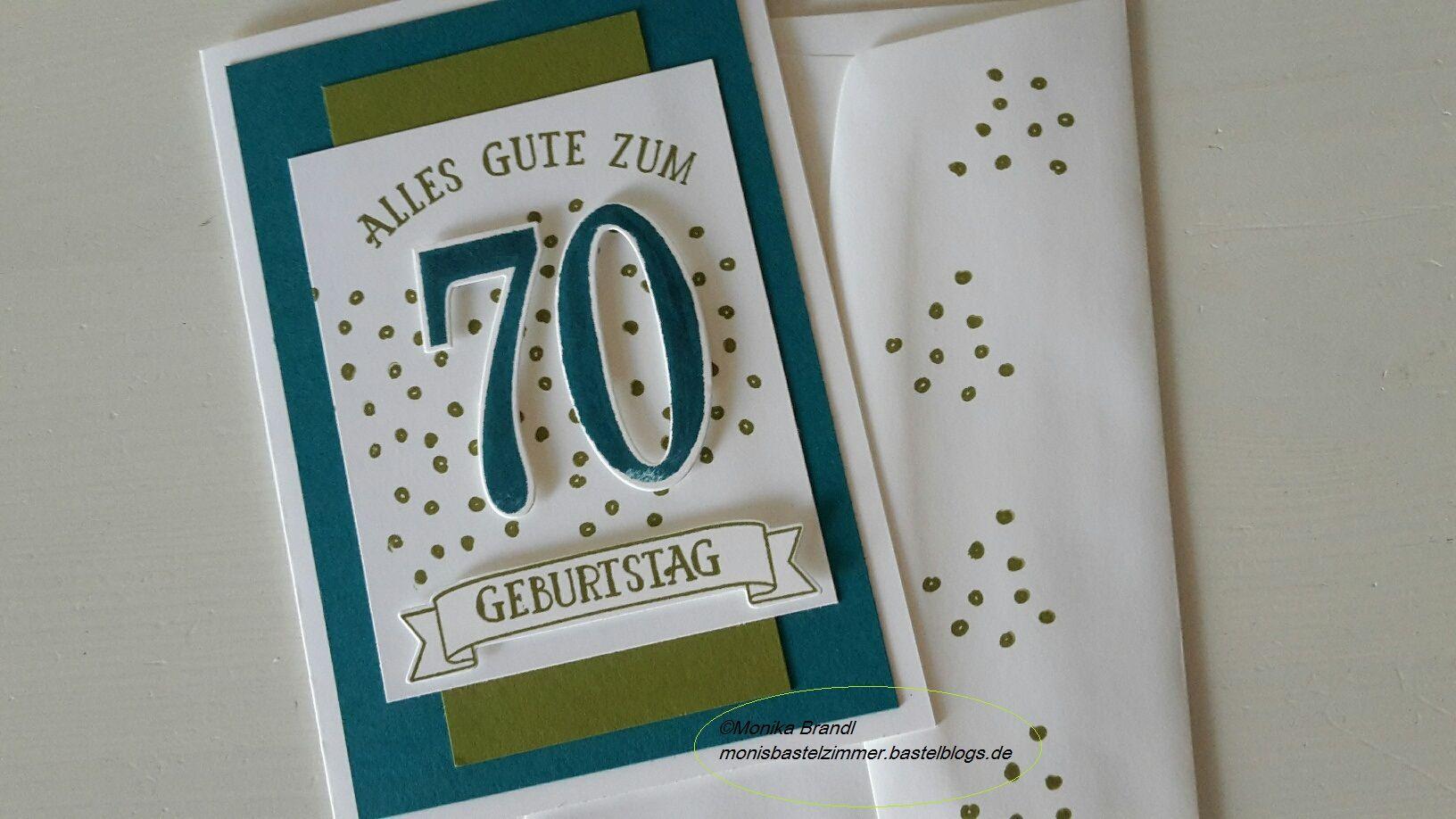 Geburtstagswunsche karte 70