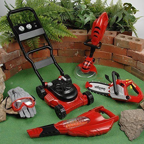 Kids Power Tools Constructive Playthings Garden Landscaping Fun