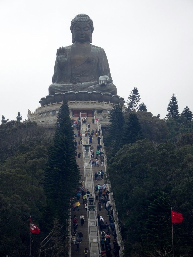 Tian Tan big Buddha, Hong Kong