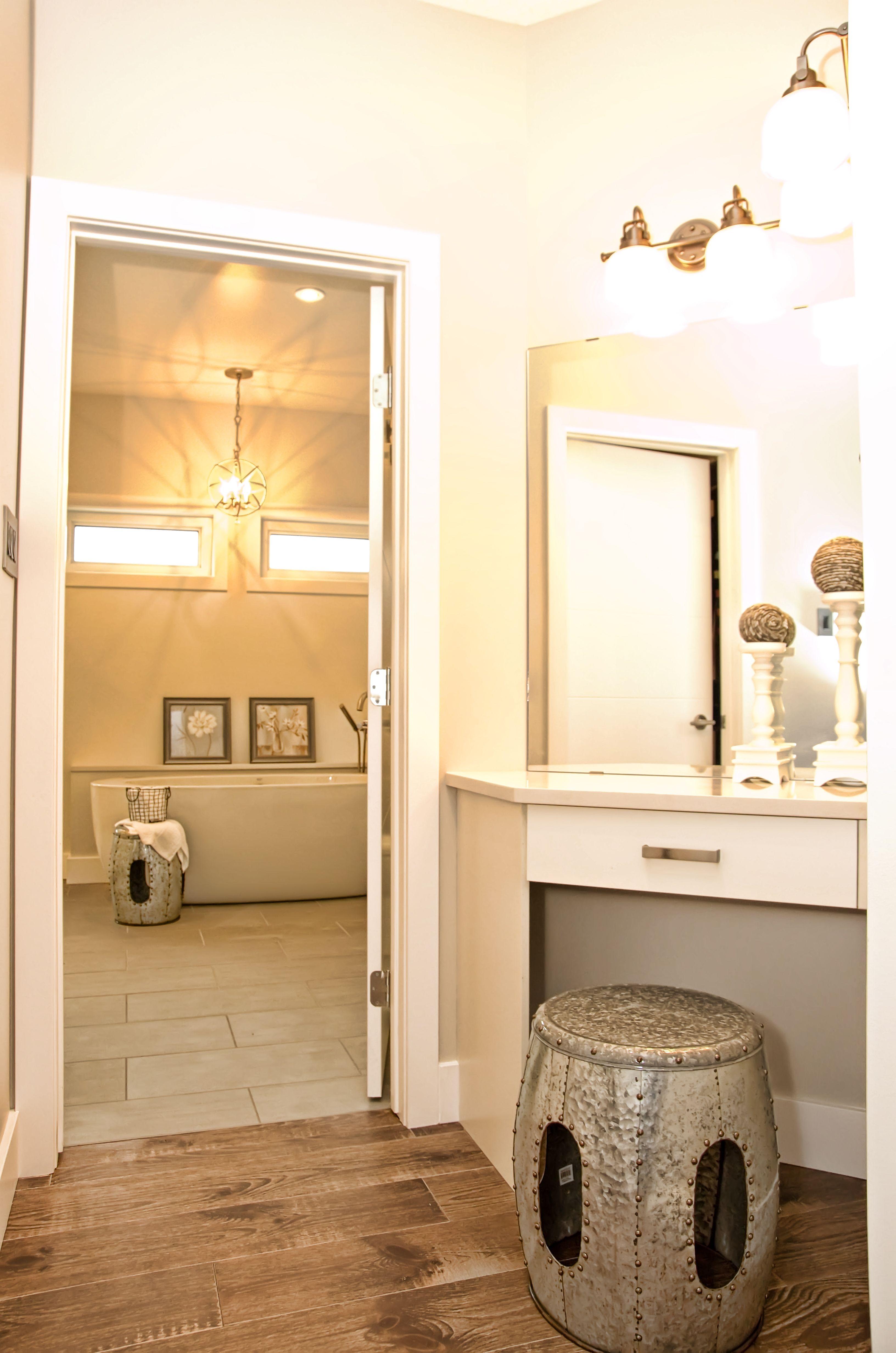 Makeup nook (With images) bathroom designs