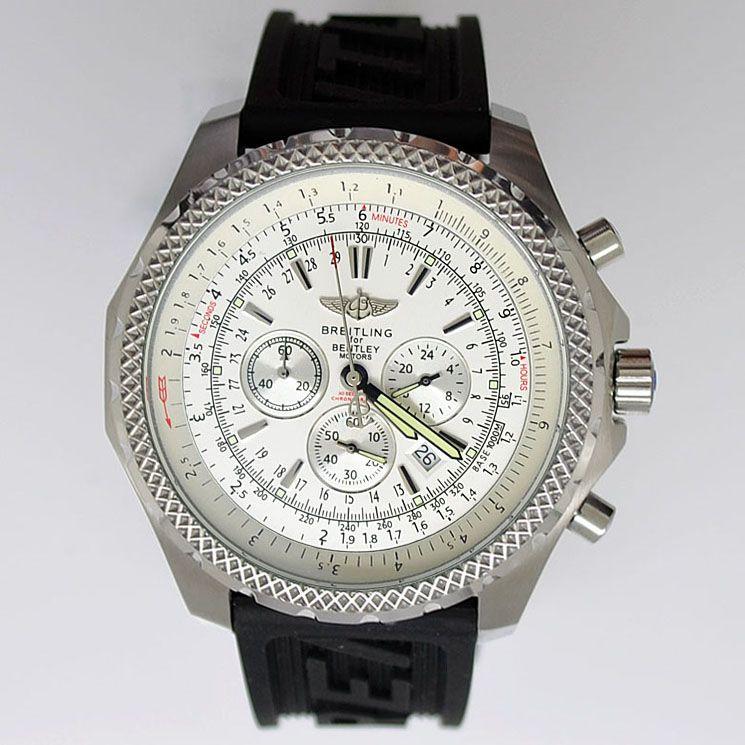 Breitling Bentley Motors T Rubber Strap Replica Watch
