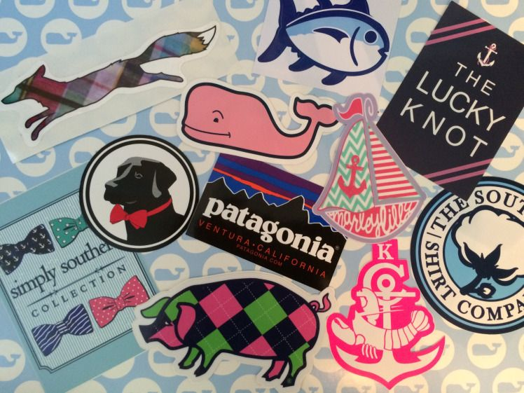 Build Your Preppy Sticker Collection Preppy With