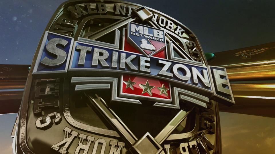 MLB Network Strike Zone Opener Channel branding, World