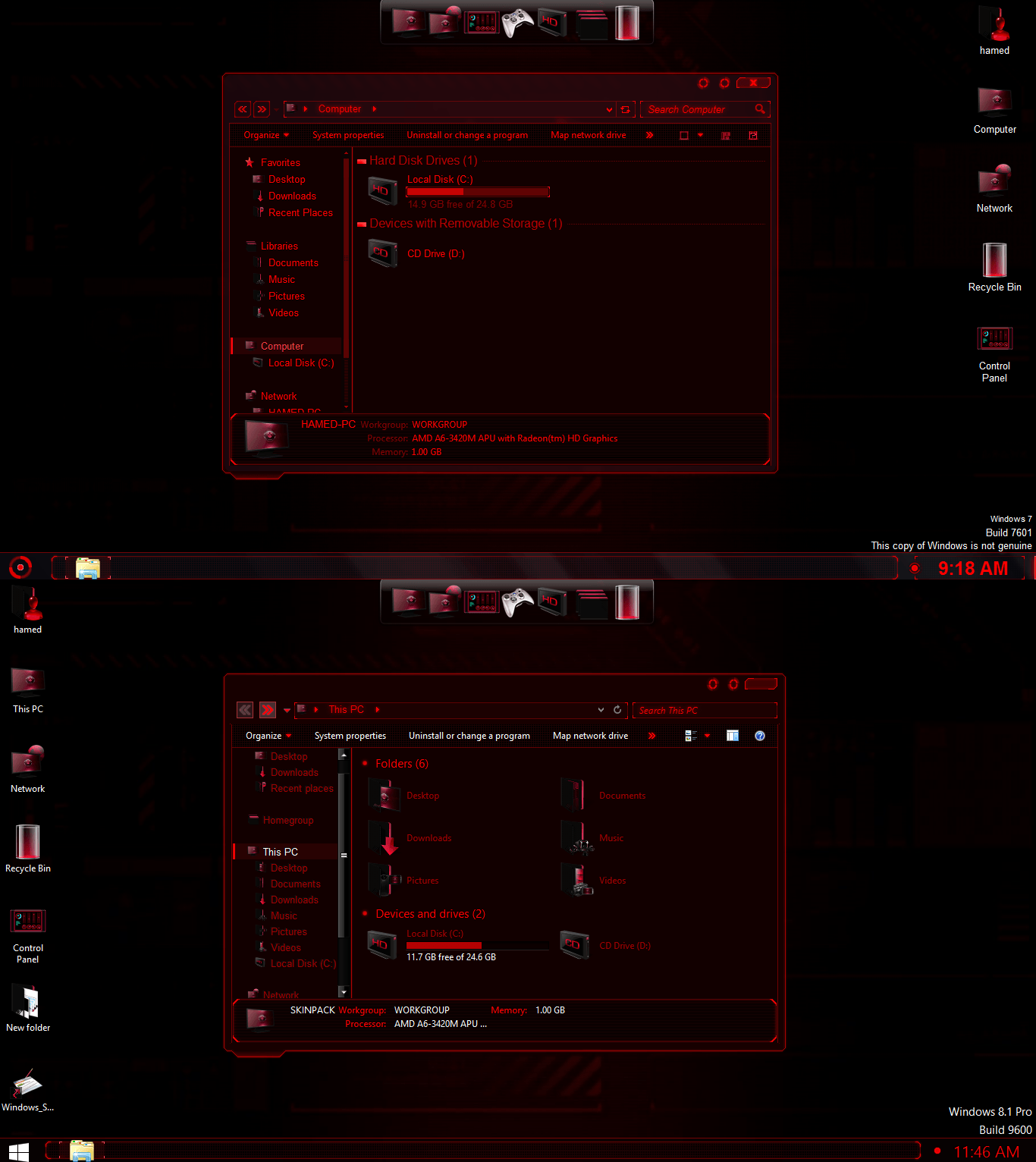 💋 Jarvis theme for windows 7 32 bit free download