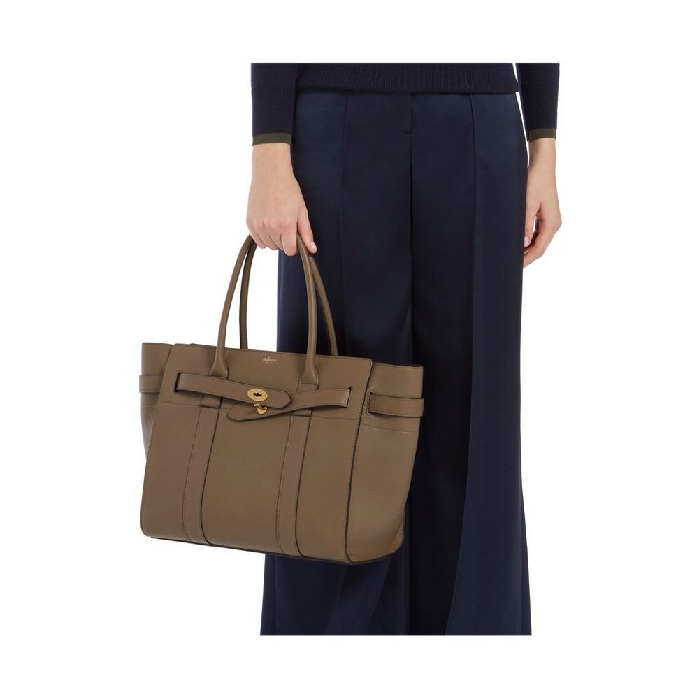 Zipped Bayswater in Clay Small Classic Grain  3149e000bd86c