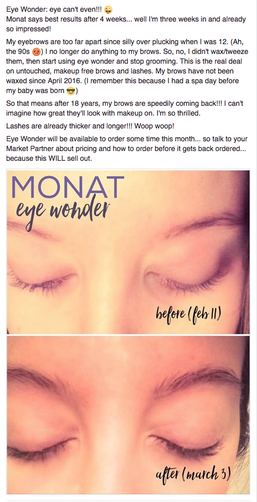 Wonder lash and brow serum is different from other serums