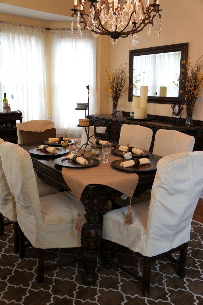 Springtablescape dining room pinterest comedores for Espejos horizontales decoracion