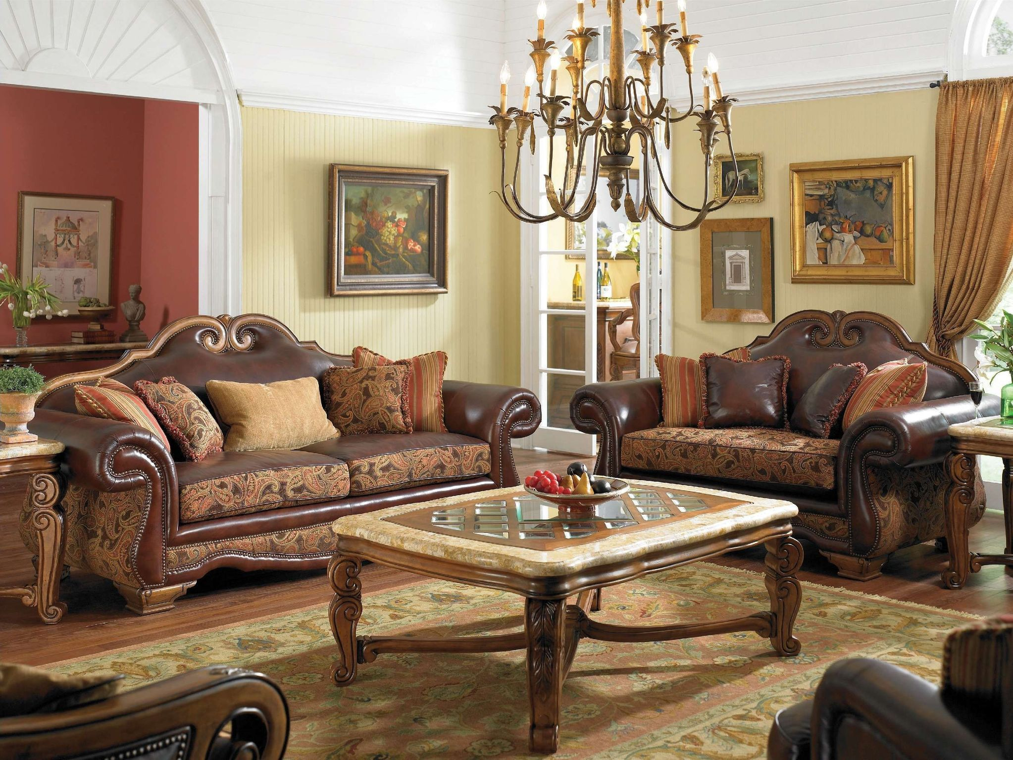 ART Furniture Old World Living Room Set