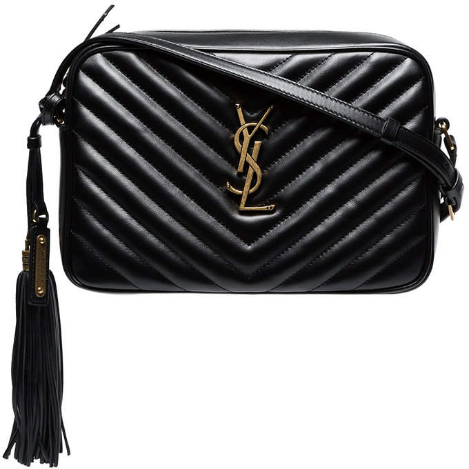 62b32c7cadb Buy online Saint Laurent Black Monogram Lou Small leather cross body bag  for $1,150. Purchase today with fast global delivery, new arrivals, new  season