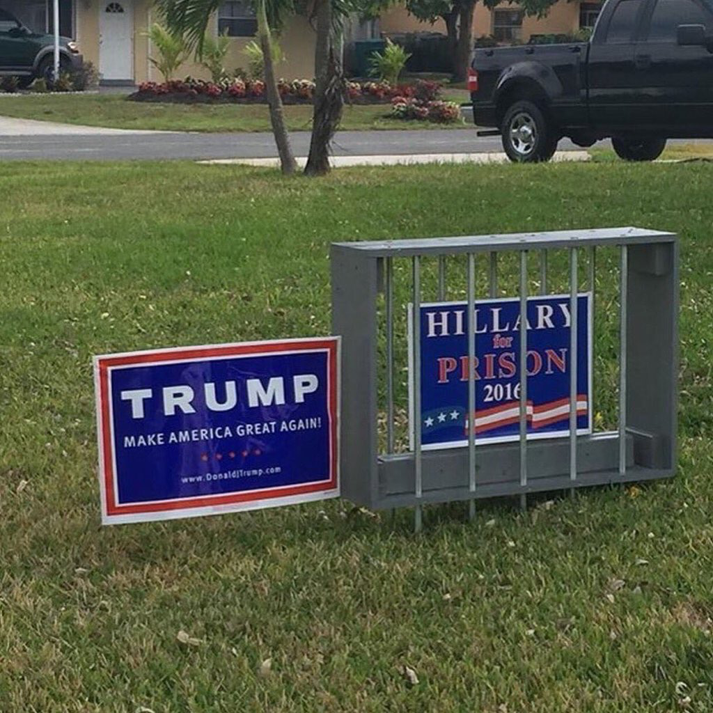 in our america yard sign - HD1024×1024