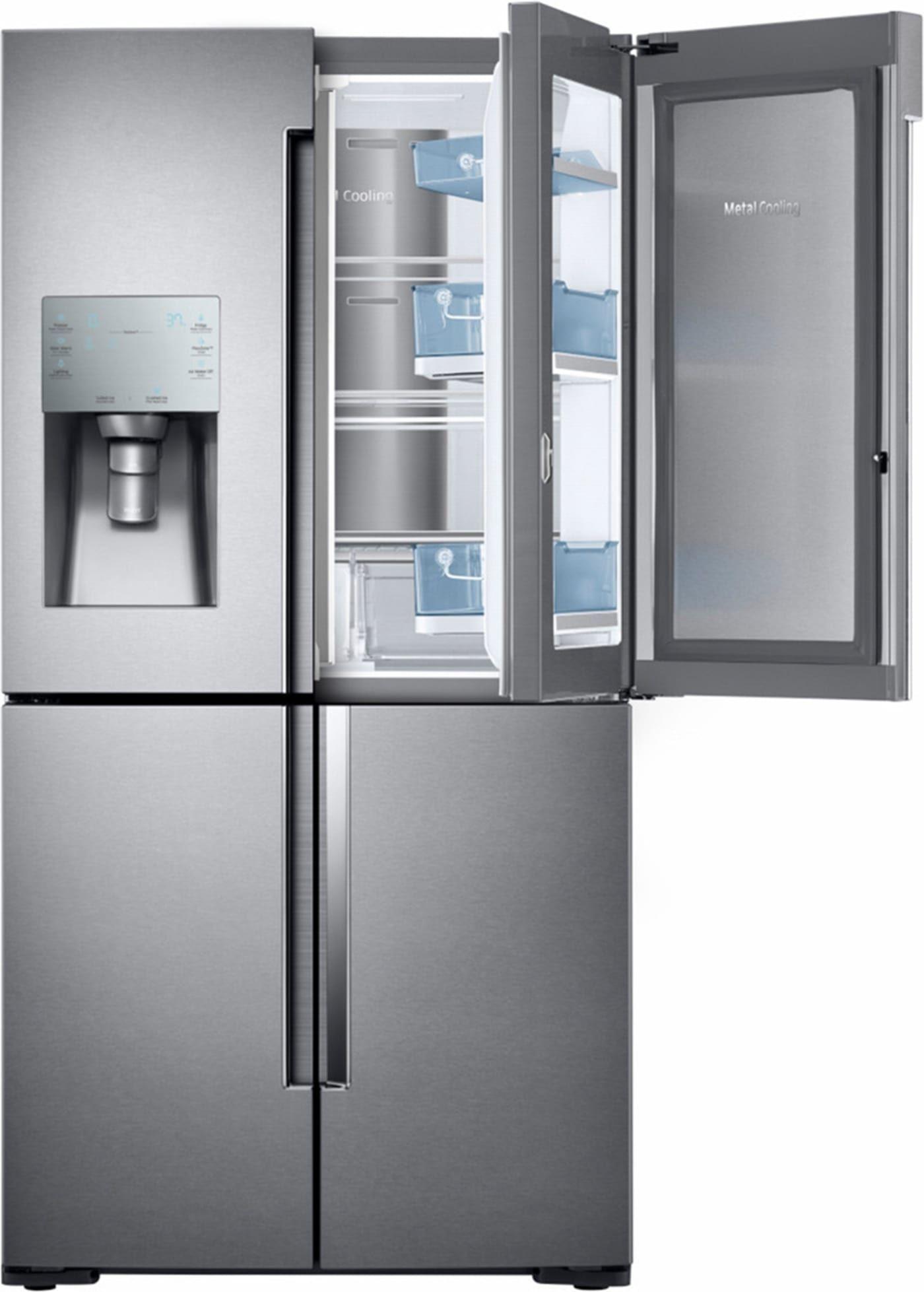 Samsung Rf28k9380sr Samsung French Door French Door Refrigerator Counter Depth Refrigerator