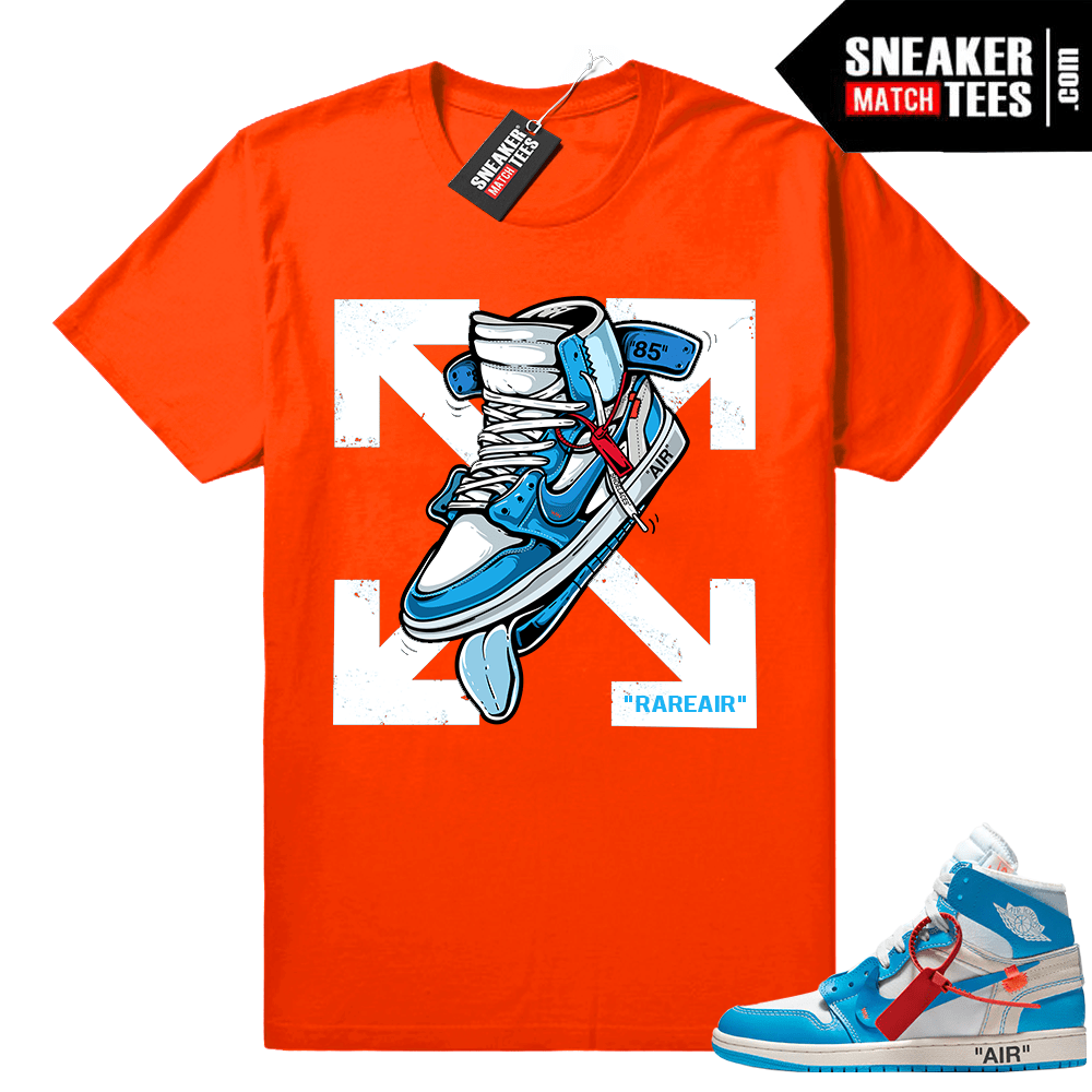 Tee Shirt to Match Blue The Great One Air Jordan One SNEAKER  Black Graphic Tee