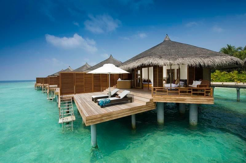 Maldives Hľadať Googlom Island Resort Water Villa Beautiful Places