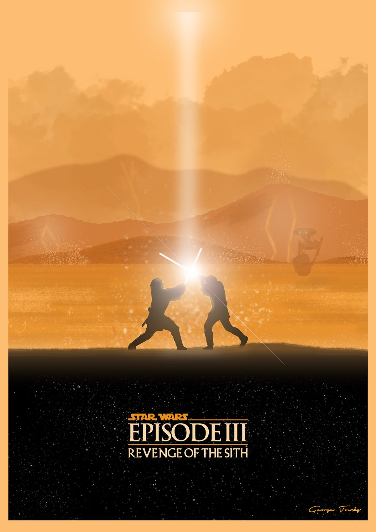 Star Wars Prequel Trilogy Posters - Created by George Townley | The ...