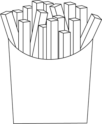 Black And White French Fries Black And White French Fries Images French Fries
