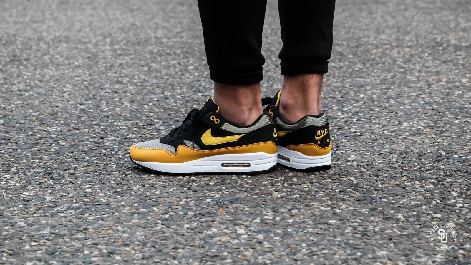 best cheap 4fed3 392ca Nike Air Max 1 Dark Stucco/Vivid Sulfur - AH8145-001 | It Must Be ...