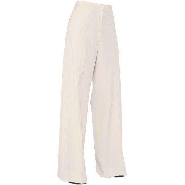High-rise wide-leg cotton trousers Christophe Lemaire 4M2Y3