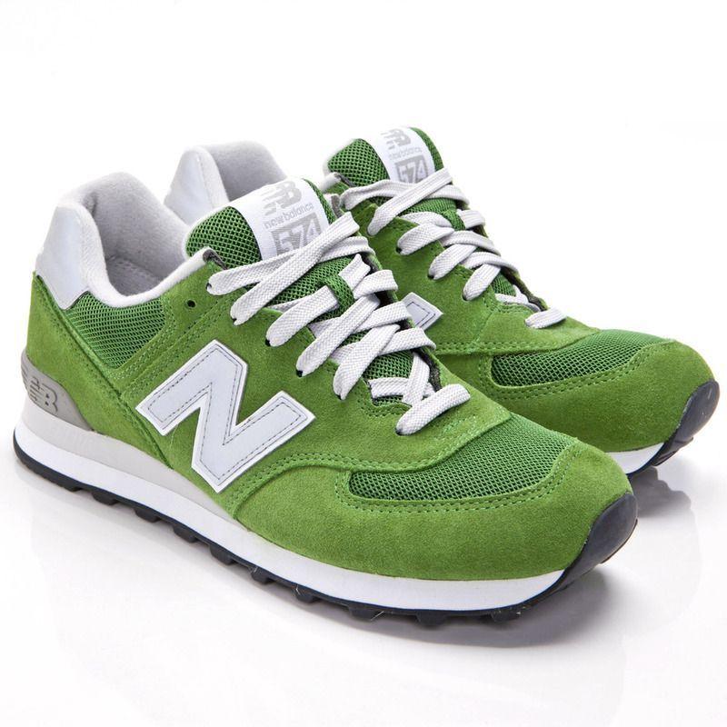 New Balance - ML574 GNB verde #Balance #GNB #ML574 #tennis shoe ...