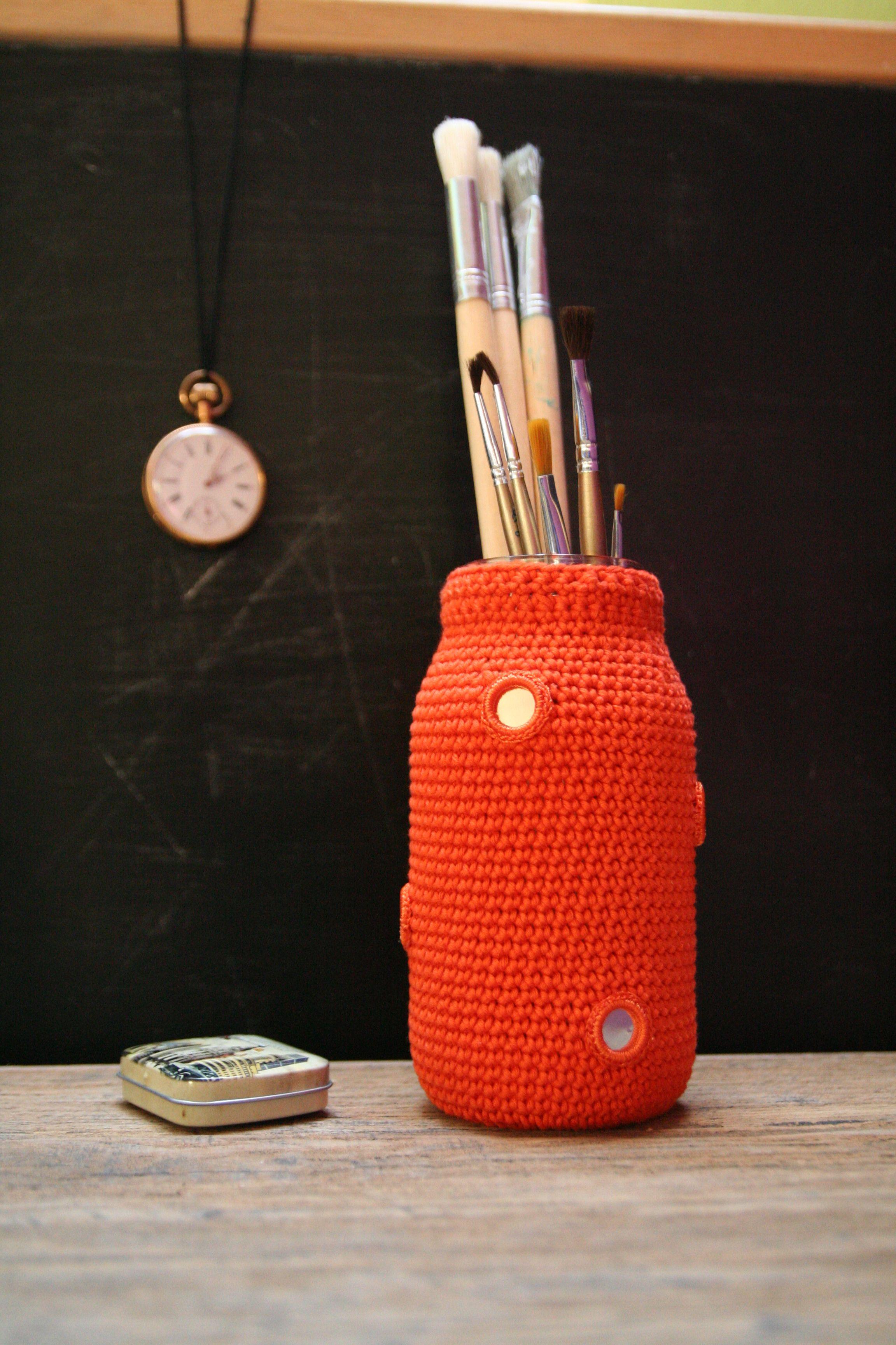 So Hilti colourful vase...